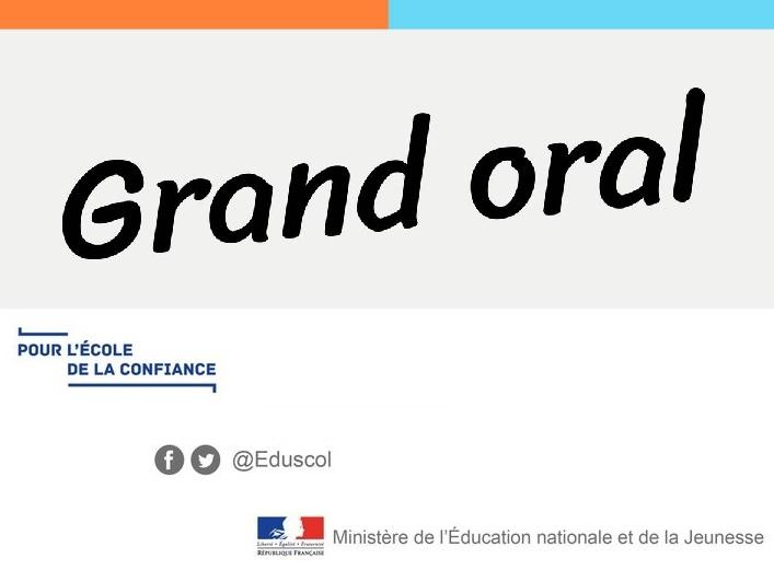 """Physique-Chimie Créteil - """"Grand oral"""" dans les classes de ..."""